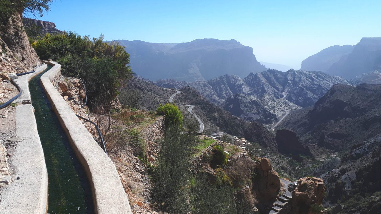 Jebel Akhdar Trek by Twenty3extreme