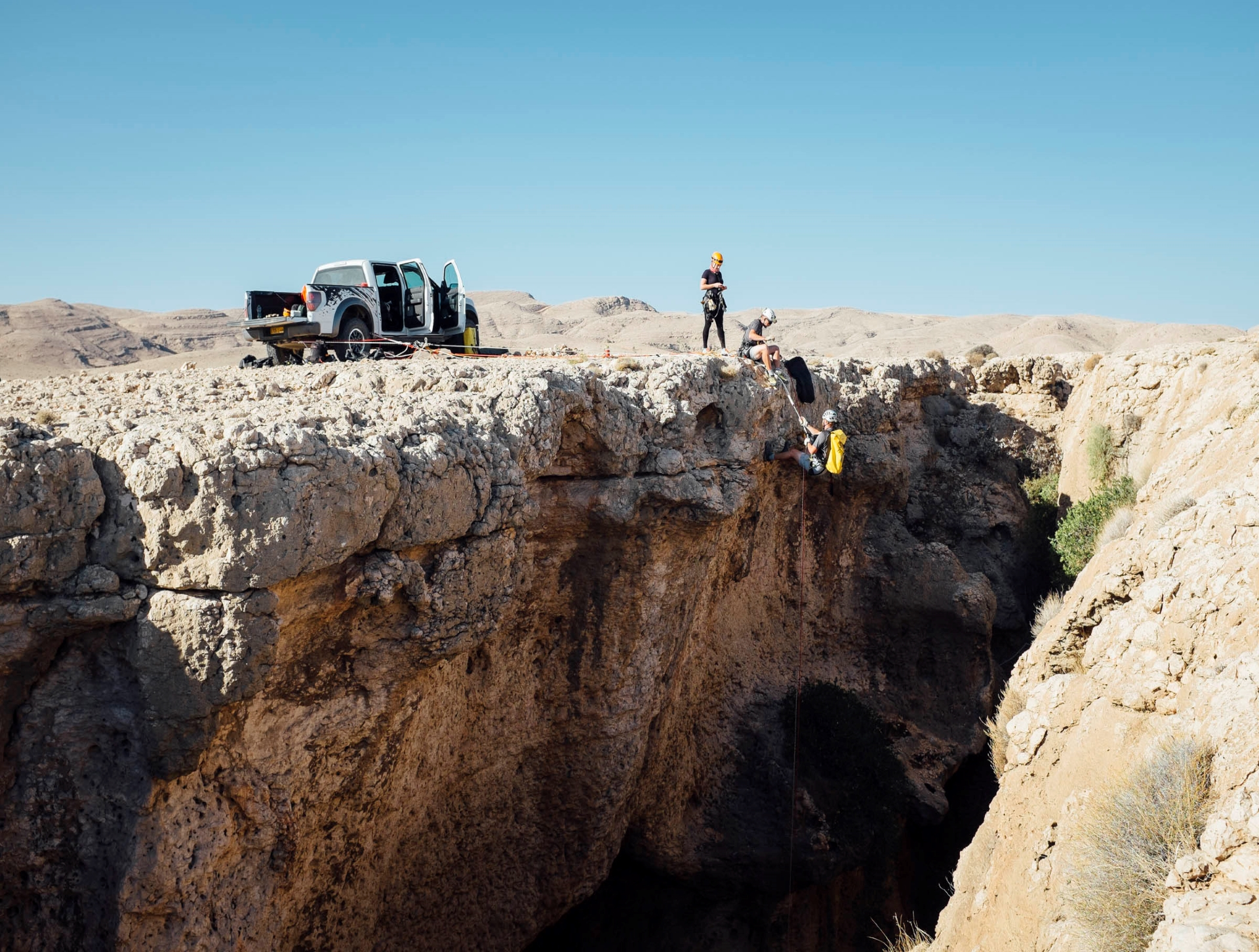7th hole -filming in oman